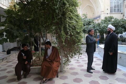مراسم آغاز دومین سال تحصیلی مدرسه علمیه شبانه امام صادق (ع) قم