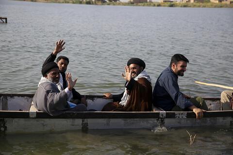 تصاویر/ فعالیت های تبلیغی طلاب هندی مقیم ایران در مناطق محروم خوزستان