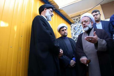 سفر حجت الاسلام و المسلمی مهدوی، نماینده ولی فقیه در هندوستان به استان خوزستان