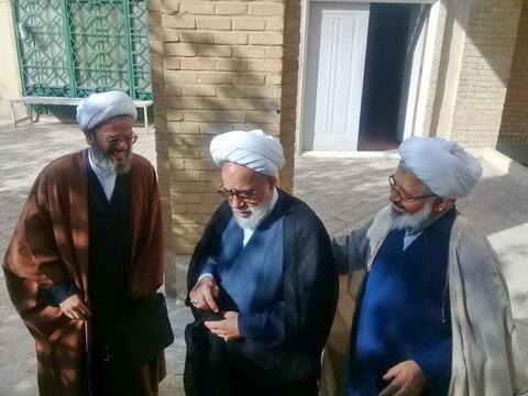 سفر حجت الاسلام والمسلمین حبیب الله غفوری به سمنان