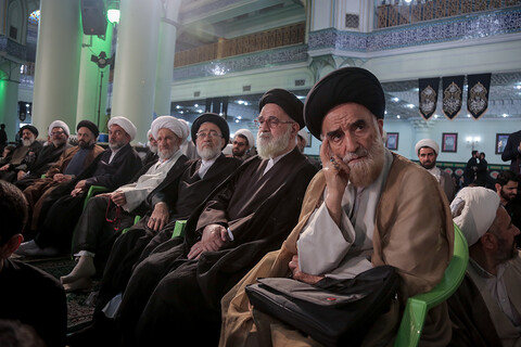 مراسم آغاز سال تحصیلی حوزه علمیه تهران
