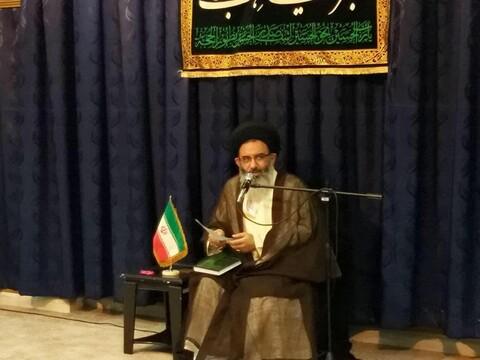 تصاویر/ آغاز درس خارج نماینده رهبری در سوریه در شهر دمشق