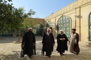 مروری بر رویدادهای سفر قائممقام مدیر حوزههای علمیه به سمنان + عکس