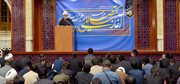 دنیا امروز فهمیده که نمیتواند با زبان زور با ایران صحبت کند/ کار طلبه و روحانی هدایت جامعه است