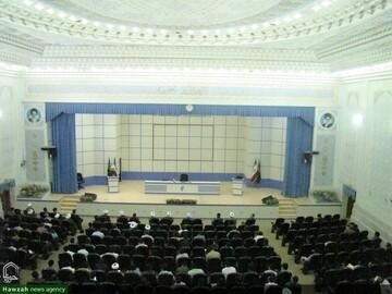 مراسم آغاز سال تحصیلی مجتمع آموزش عالی تاریخ، سیره و تمدن اسلامی برگزار شد
