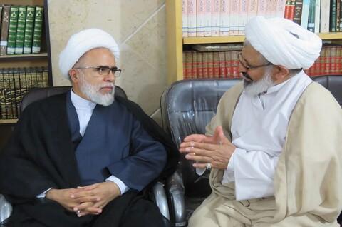 تصاویر/ سفر حجت الاسلام والمسلمین غفوری قائم مقام مدیر حوزه های علمیه به سمنان