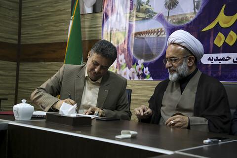 تصاویر/ سفر نماینده ولی فقیه در هندوستان به خوزستان