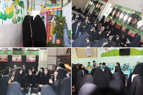 بازدید جمعی از دانشجویان علوم پزشکی لرستان از مجتمع آموزش عالی بنت الهدی