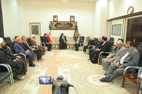 آیتالله سید محمد سعیدی در دیدار سعد جواد قندیل، سفیر عراق در ایران