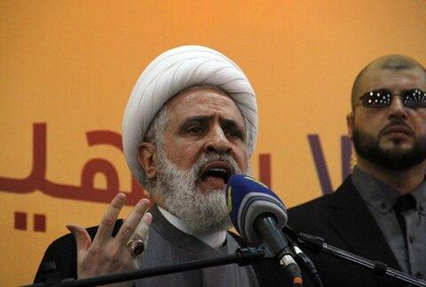 شیخ نعیم قاسم معاون دبیرکل حزب الله لبنان