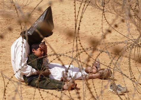 تصویری تکان دهنده از جنگ نابرابر آمریکا با عراق