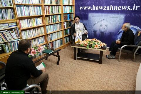بالصور/ اجتماع المساعد البحثي للحوزات العلمية في البلاد مع الإعلاميين بقم المقدسة