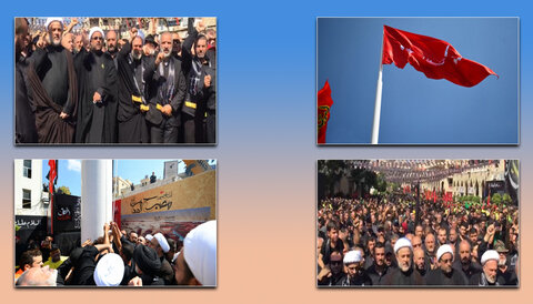برافراشتن پرچم امام  حسین(ع) جنوب لبنان