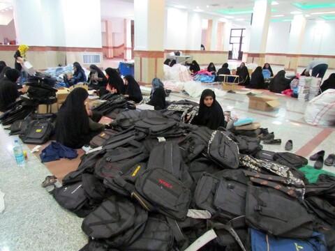 تصاویر/ پویش «مردم همدل» جهت کمک به دانش آموزان مناطق محروم کرمان