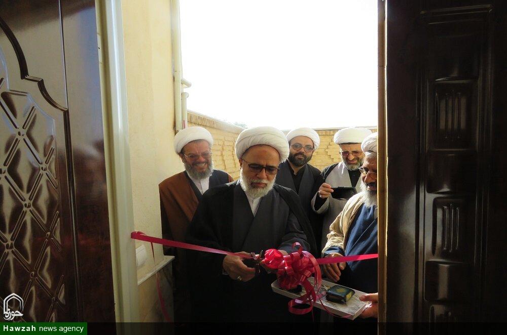 تصاویر/ سفر حجت الاسلام والمسلمین غفوری، قائم مقام مدیر حوزه های علمیه به سمنان