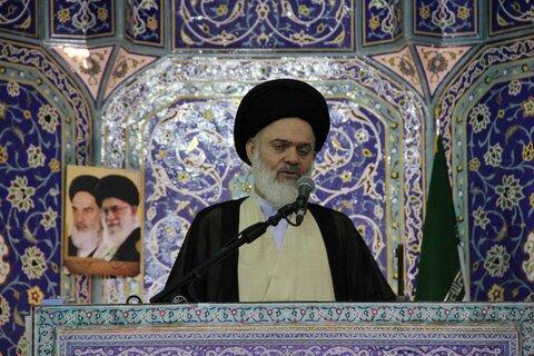 نماز جمعه قم آیت الله حسینی بوشهری