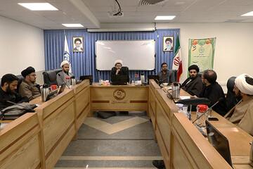 نخستین جلسه شورای فکری دفتر جامعه نخبگانی مرکز خدمات برگزار شد