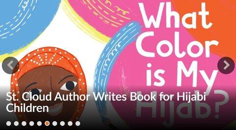 نویسنده مسلمان سنت کلاود، کتابی برای کودکان محجبه نوشت
