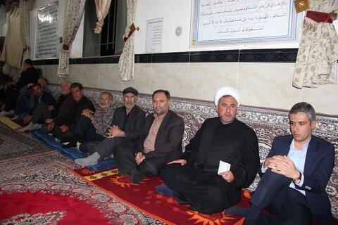 اعضای موکب حوزه علمیه قزوین