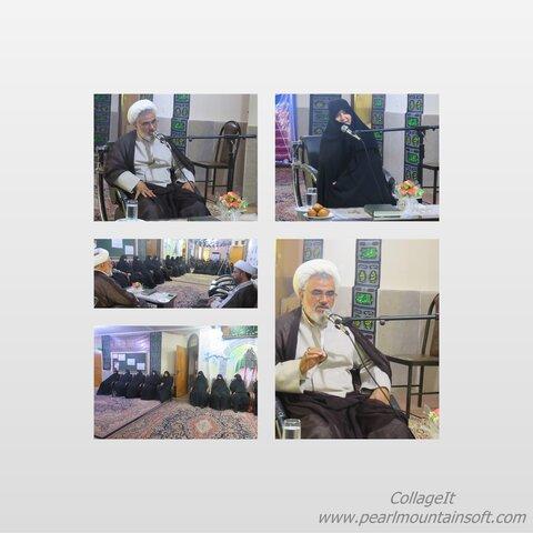 سخنرانی نماینده ولی فقیه در مراسم معارفه مدیر جدید مدرسه علمیه الزهرا(ی) بندرعباس