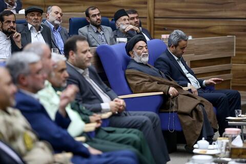 تصاویر/ همایش خادمین و دست اندرکاران اربعین حسینی استان خراسان شمالی