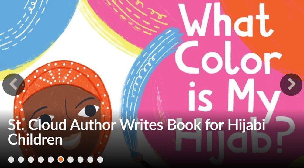نویسنده مسلمان سنت آمریکایی کتابی برای کودکان محجبه نوشت