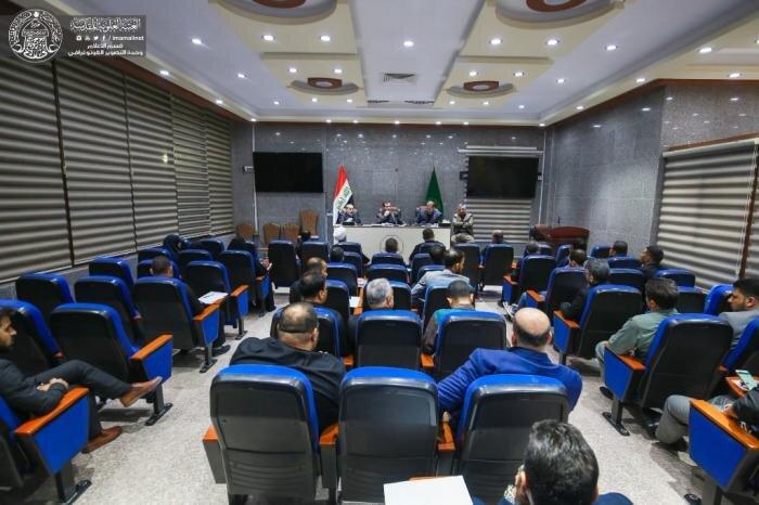 اللجنة العليا المشرفة على زيارة الأربعين تعقد اجتماعها الثاني لمناقشة الخطط المهيئة لخدمة الزائرين