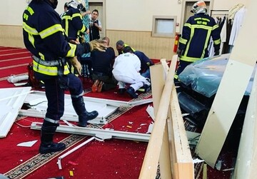 Car rams into mosque in eastern France, driver arrested
