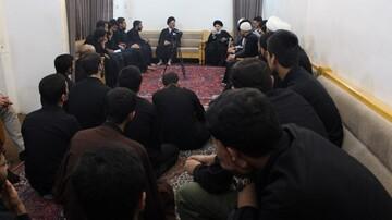 توصیه آیت الله العظمی حکیم به جمعی از طلاب تهرانی