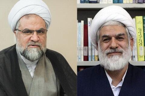 حجت الاسلام ابراهیمی و بهمنی