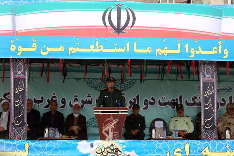 تصاویر/ رژه نیروهای مسلح خراسان شمالی