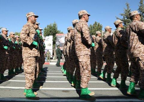 تصاویر/ رژه نیروهای مسلح در کردستان به مناسبت هفته دفاع مقدس