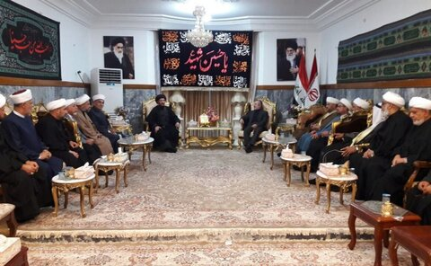 Iraqi Shia, Sunni scholars call for reinforcing solidarity with Iran