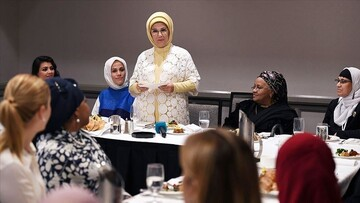 Turkey's first lady highlights women's role in Islam