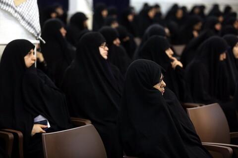 تصاویر/ مراسم آغاز سال تحصیلی جدید موسسه آموزش عالی حوزوی معصومیه قم