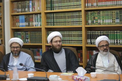 تصاویر/ دیدار مسئولین فرهنگی ستاد اربعین با آیت الله اعرافی