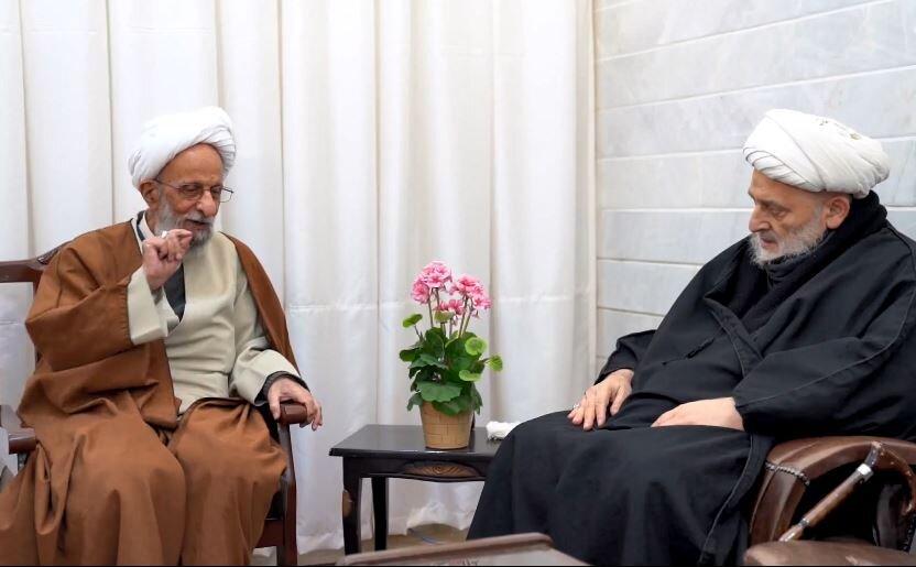 فیلم|  پاسخهای آیت الله مصباح یزدی به سؤالات مرحوم شیخ حسین کورانی