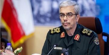 تبریک سرلشکر باقری به رؤسای ستاد کل نیروهای مسلح کشورهای اسلامی