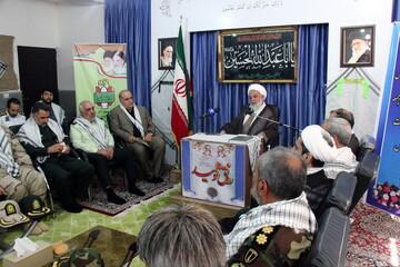 تصاویر/ دیدار اعضای ستاد گرامیداشت هفته دفاع مقدس خراسان شمالی با نماینده ولی فقیه در استان
