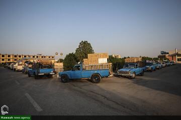 بالصور/ توزيع 100 جهاز للزواج وتبرعات أخرى بين متضرري السيول والفيضانات في محافظة خوزستان جنوبي إيران