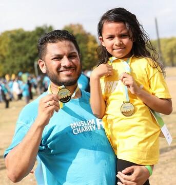 شرکت 500 دونده در مسابقه «دو خیریه اسلامی» به میزبانی مسجد شرق لندن
