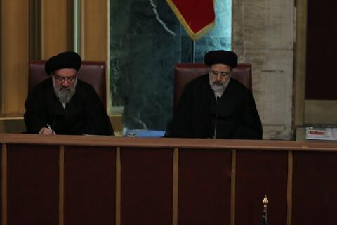 تصاویر/ هفتمین اجلاس رسمی مجلس خبرگان رهبری در دوره پنجم