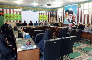 اولین همایش ائمه جماعات مدارس در منطقه شهداد برگزار شد