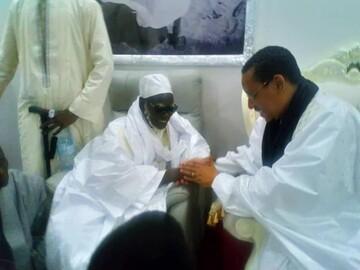 حضور یکی از رهبران شیعی سنگال در مراسم افتتاح مسجد جامع شهر داکار+ تصاویر
