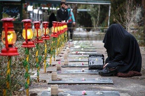 گلباران گلزار شهداء