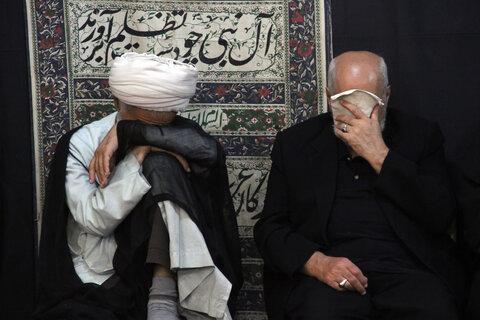 تصاویر/ مراسم عزاداری شهادت امام زین العابدین(ع) در بیوت مراجع