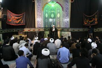 تصاویر/ درس اخلاق حجت الاسلام والمسلمین تحریری در مدرسه علمیه معصومیه قم