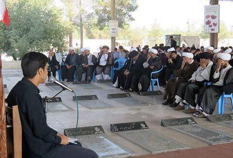 میثاق با شهدای روحانی و طلبه استان یزد