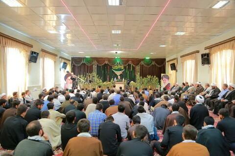 تصاویر/ گرامیداشت هفته دفاع مقدس در مدرسه علمیه امیرالمومنین(ع) تبریز
