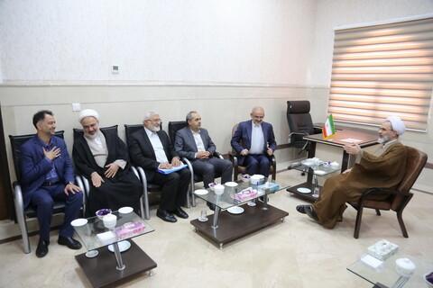 دیدار وزیر آموزش و پرورش با آیت الله اعرافی